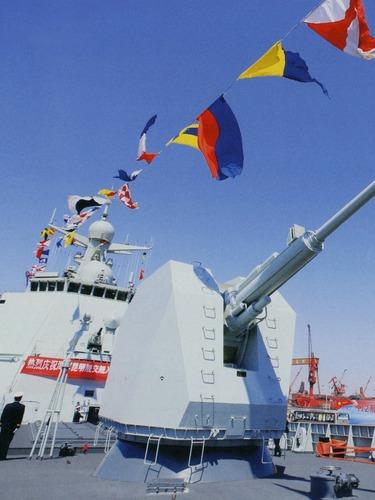 052D战舰垂发装置开启画面