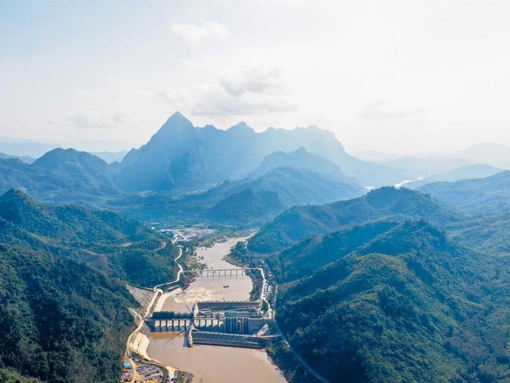 """一带一路上的""""七明珠"""":老挝南欧江水电站[图集]"""