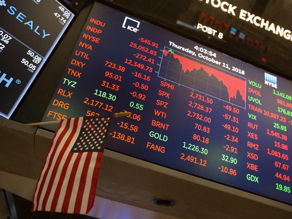 美股三大股指集体低开 市场正等待美联储主席讲话