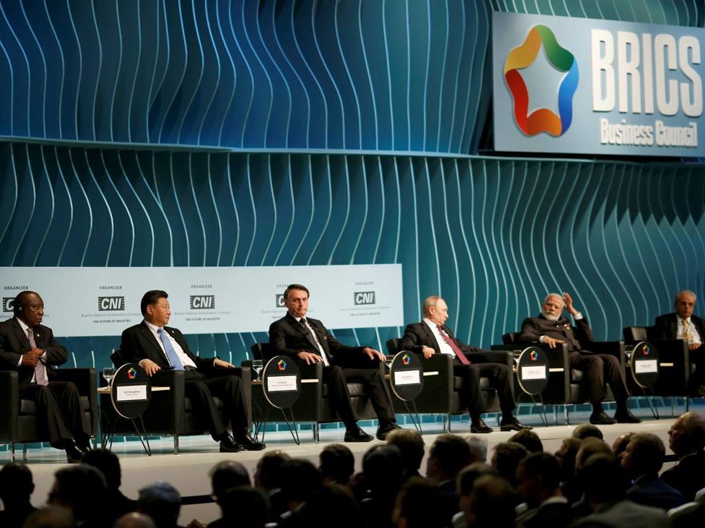 金砖国家领导人峰会巴西举行 习近平与多国领导人会晤[图集]