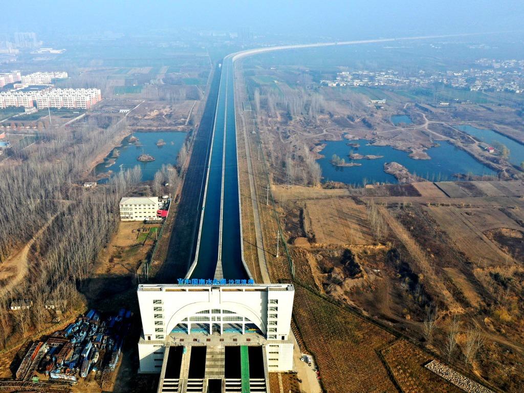"""中国南水北调中线创多个""""之最"""" 探秘核心水源涵养地[图集]"""