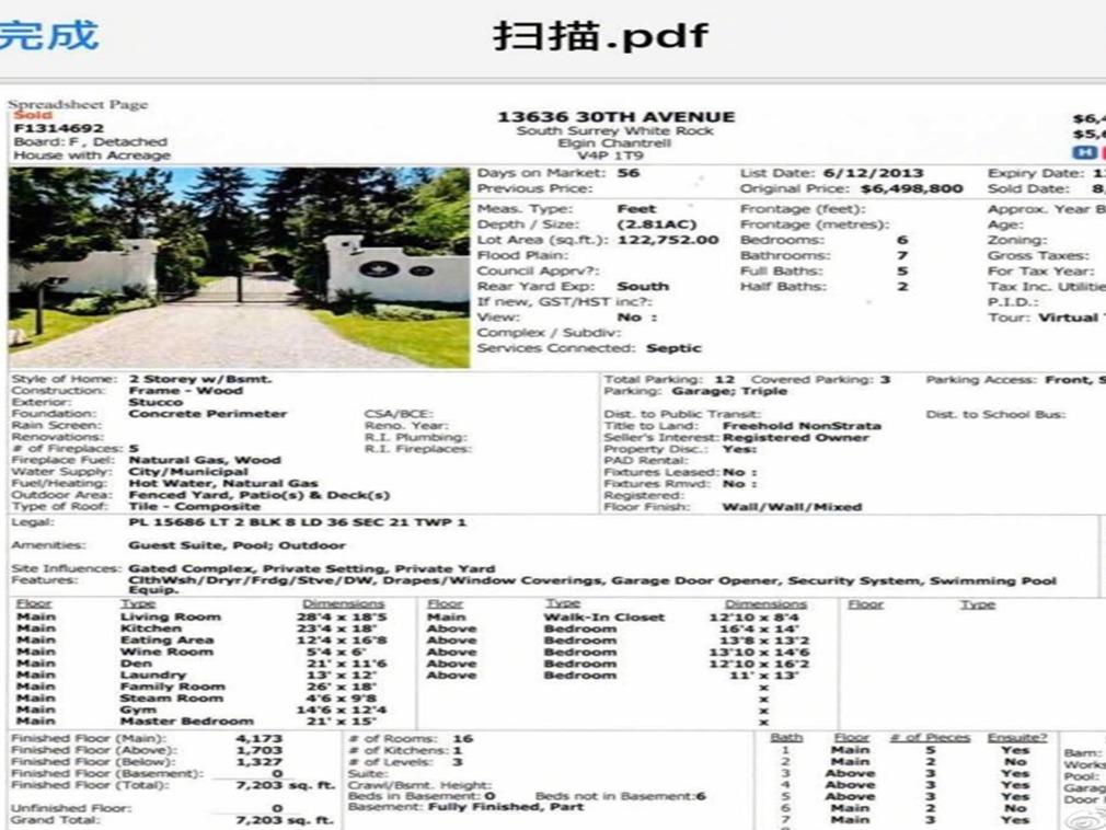 崔永元曝王中军加拿大房产 并建议其卖掉救市(图)