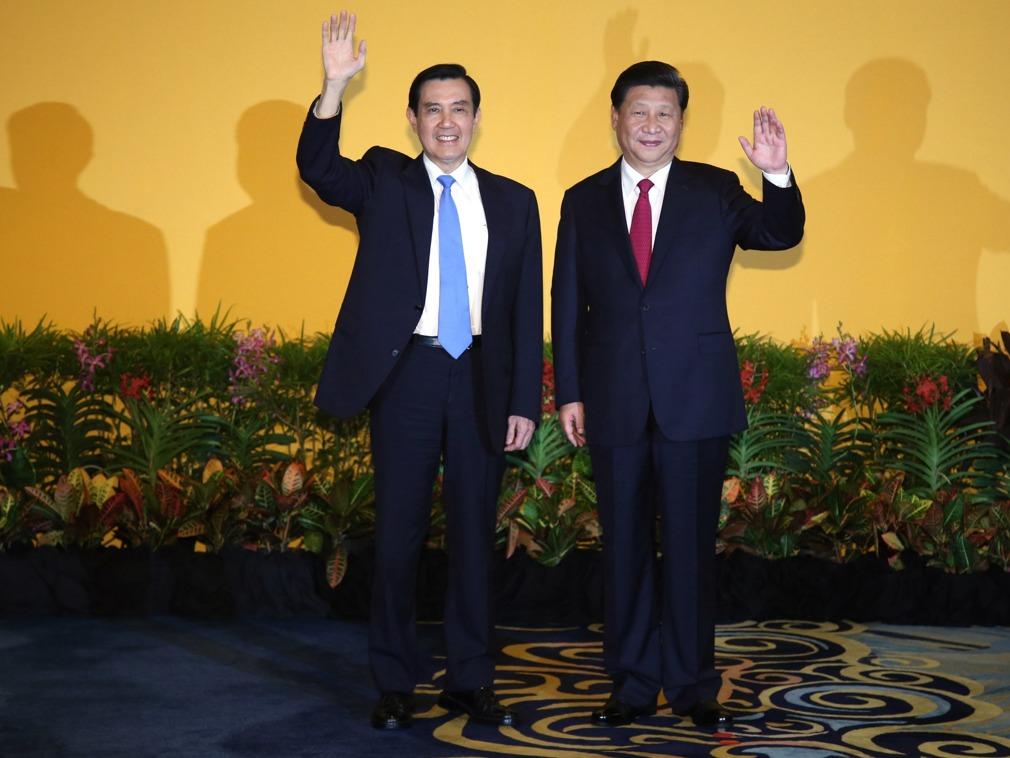 """回忆习马会马英九:习近平静静听我讲""""中华民国"""" 多维新闻 台湾"""